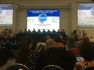 Estamos presentes en la 217º Reunión de Consejo Directivo y Asamblea General Ordinaria de FEHGRA en