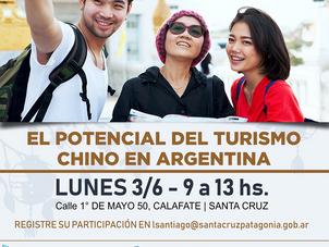Invitación a Conferencia sobre Turismo Chino