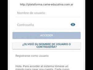 CAME Educativa lanza su App y anuncia nueva plataforma de educación a distancia