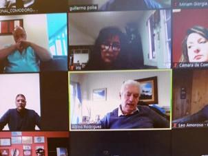 Reunión virtual con Gerente Zonal del Banco Nación