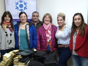 Realizamos la entrega de donación para Bomberos Voluntarios.