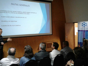 """Presentación preliminar del Plan Estratégico y Comercial del Futuro """"Paseo del Centro"""""""