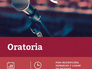 Nuevo curso en Abril: Oratoria y comunicación eficaz