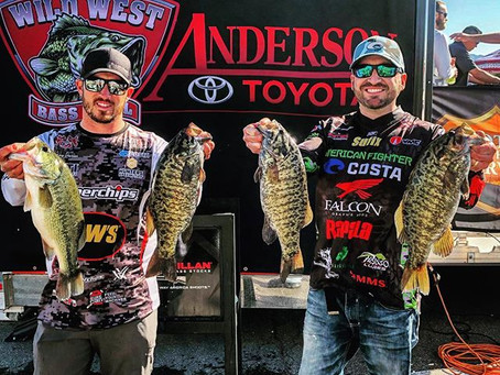 DeVries and Dwyer at the Lake Havasu Open