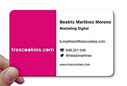 Datos de contacto Trescookies.com