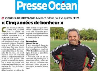Article Presse Océan