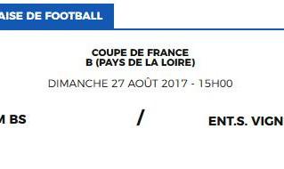 1er Tour Coupe de FRANCE