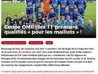 LIGUE PAYS DE LA LOIRE : 16e de finale CPL