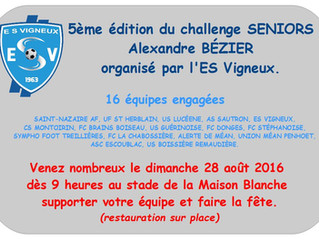 Challenge Alexandre BÉZIER
