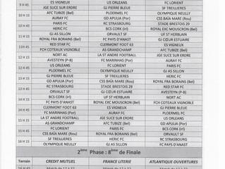 Programme U17 CUP