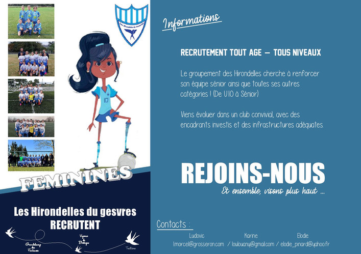 Affiche pour recrutement - football (1)-