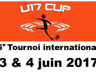 U17CUP 5e tournoi international