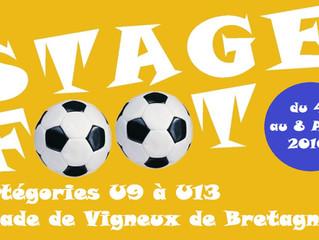 Stage foot U9 à U13
