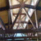 heavy timber truss finishing