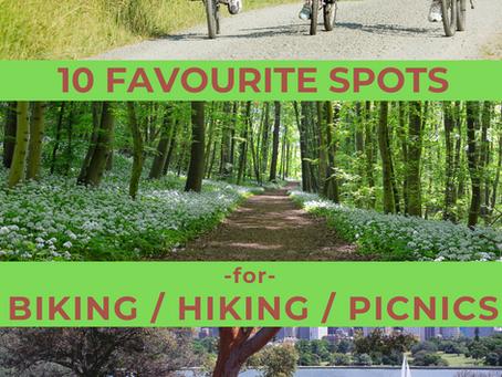 Danforth Dad's 10 Favourite Spots for Hiking / Biking / Picnics