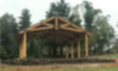 Yellow Pine Timber Pavilion