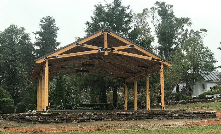 Yellow Pine Timber Pavilion