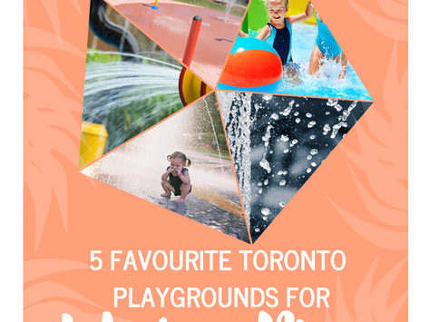 Danforth Dad's 5 Favourite Toronto Playgrounds for Water Play