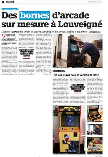 """Article dans """"la Meuse"""""""