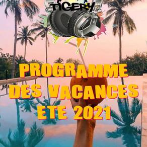 Service Jeunesse: programme des vacances d'été 2021