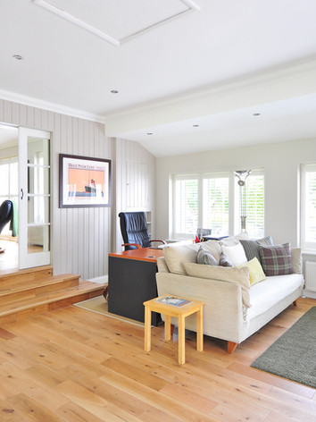 Beautiful wood floor renovation