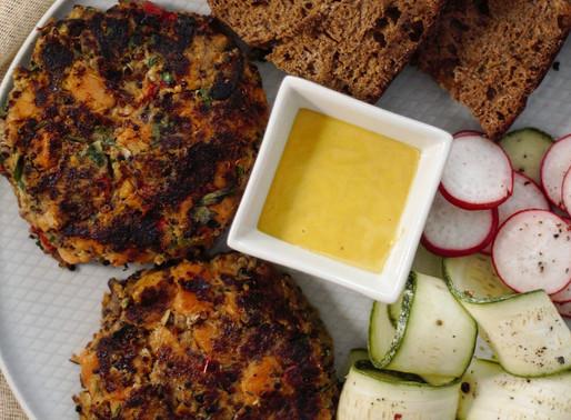 Γευστικά μπιφτέκια λαχανικών