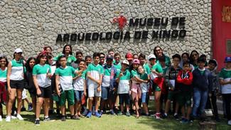 Ciclo de Aulas de Campo    Visita ao Museu de Arqueologia de Xingó - MAX