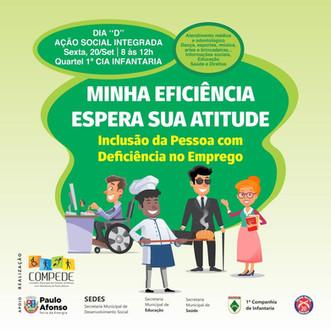 Dia D - Dia Nacional de Inclusão Social e Profissional das Pessoas com Deficiência