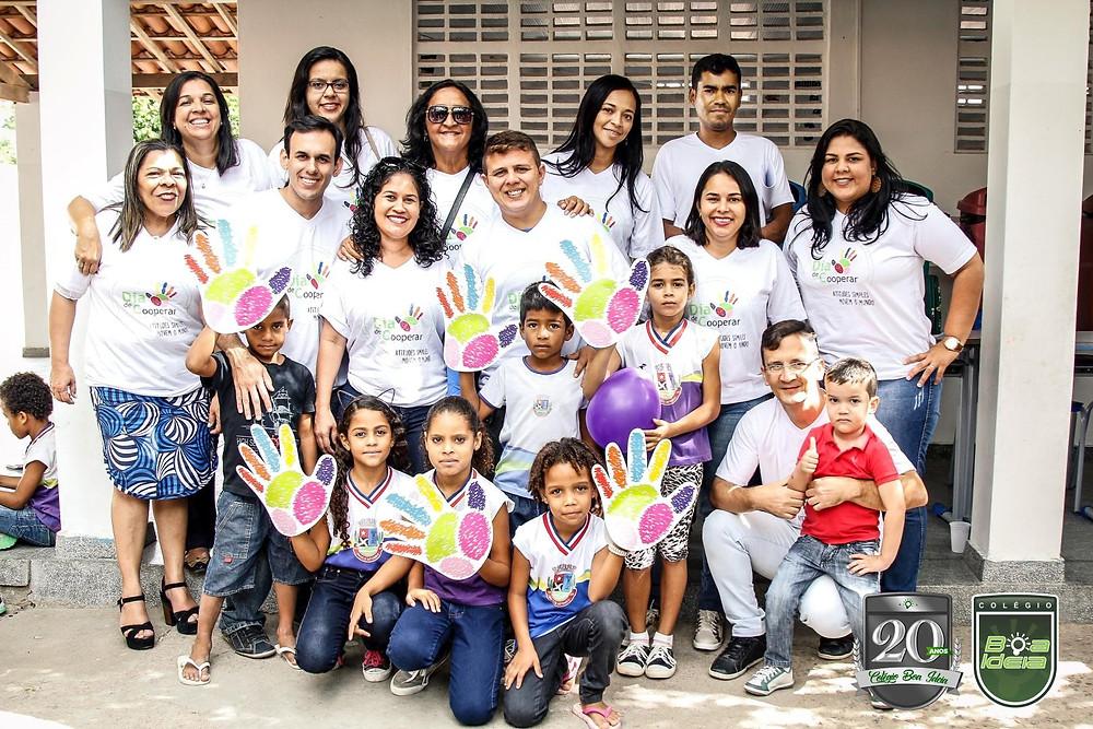 Coopex - Colégio Boa Ideia. Dia de Cooperar 2017