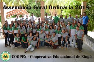 Coopex realiza sua AGO - Assembleia Geral Ordinária 2018