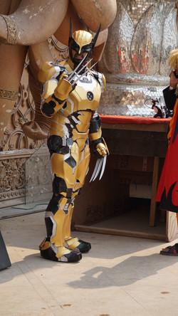 Ironman Wolverine Cosplay