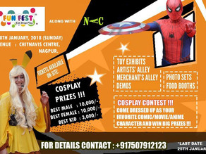 The Wait For Cosplay Competition Event In Nagpur Is Over!