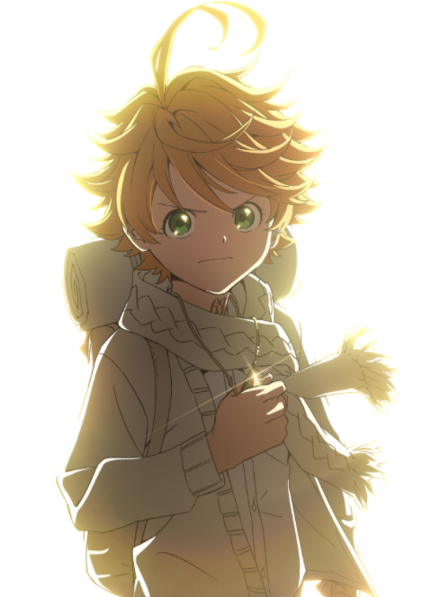 A new key visual of the second season of the upcoming anime series The Promised Neverland.