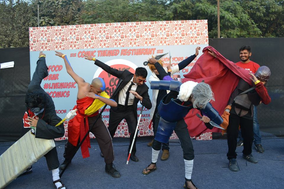 Aang Cosplay | Aakash Gupta | DCC