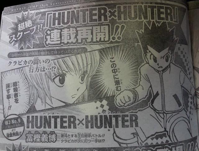 Hunter X Hunter returns
