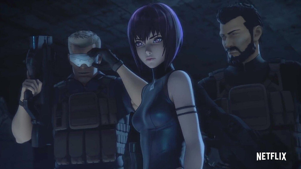 Netflix S Ghost In The Shell Sac 2045 Anime Now Available In Hindi