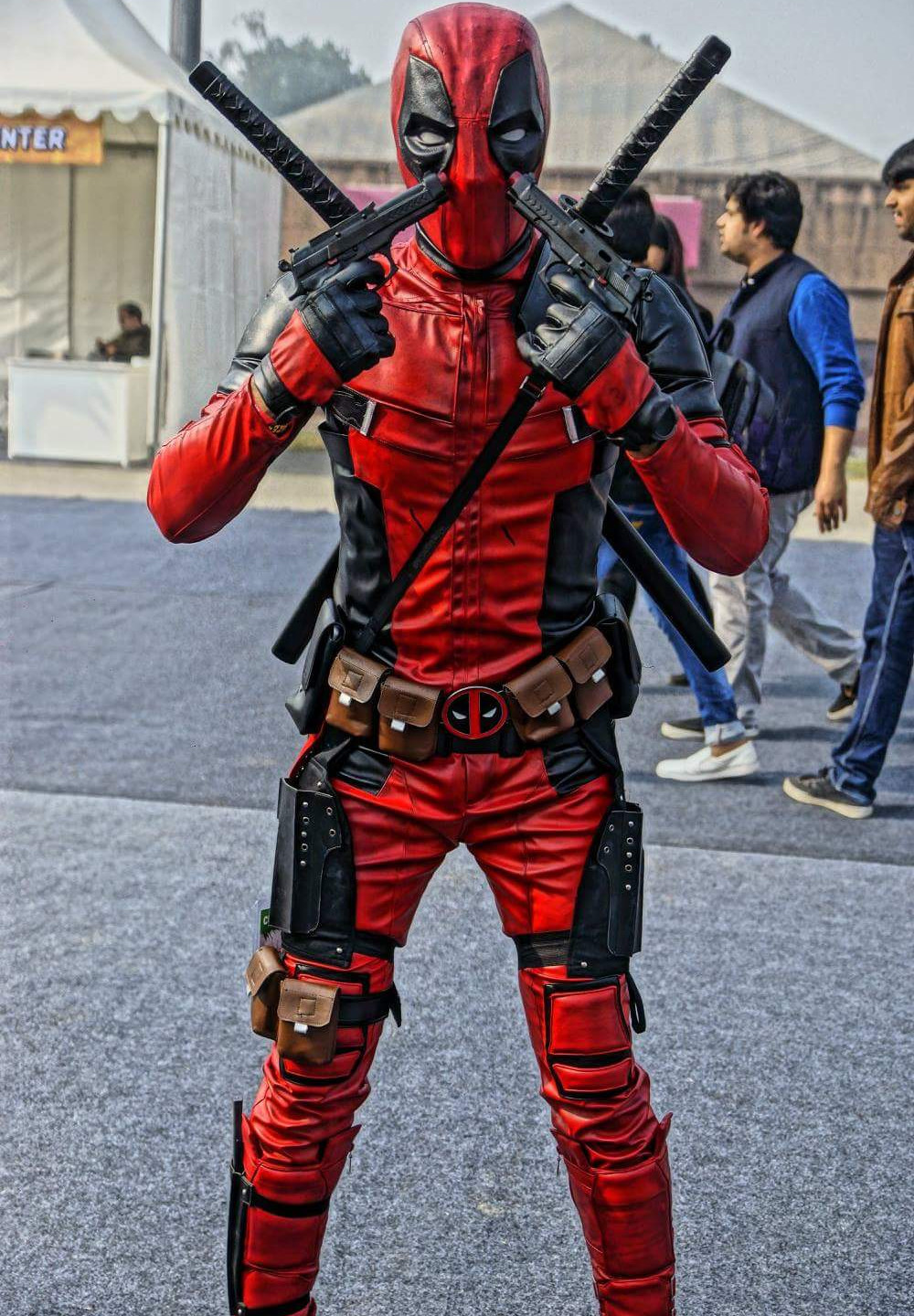 Gaurav | Deadpool Cosplay