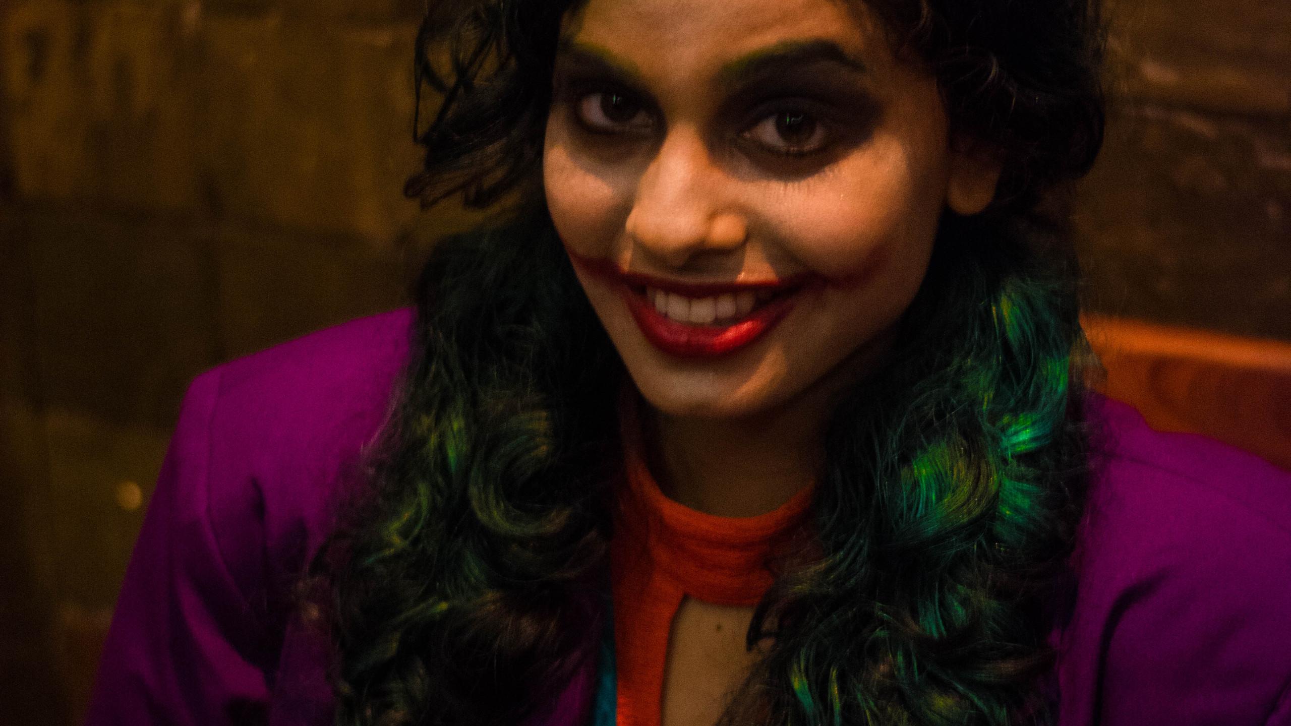 Tanzim as Joker (Gender Bend)