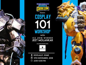 The 8th edition of Mumbai Comic Con Pre-Event: Cosplay 101 Workshop