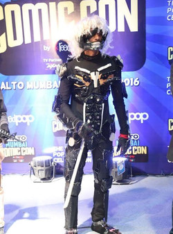 David as Raiden (Metal Gear Rising)