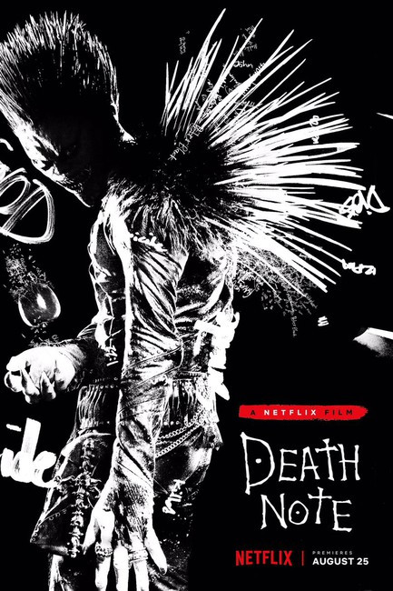 Willem Dafoe voicing 'Ryuk' in Netflix's Death Note
