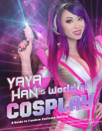 Yaya Han's World Of Cosplay book Cover Page