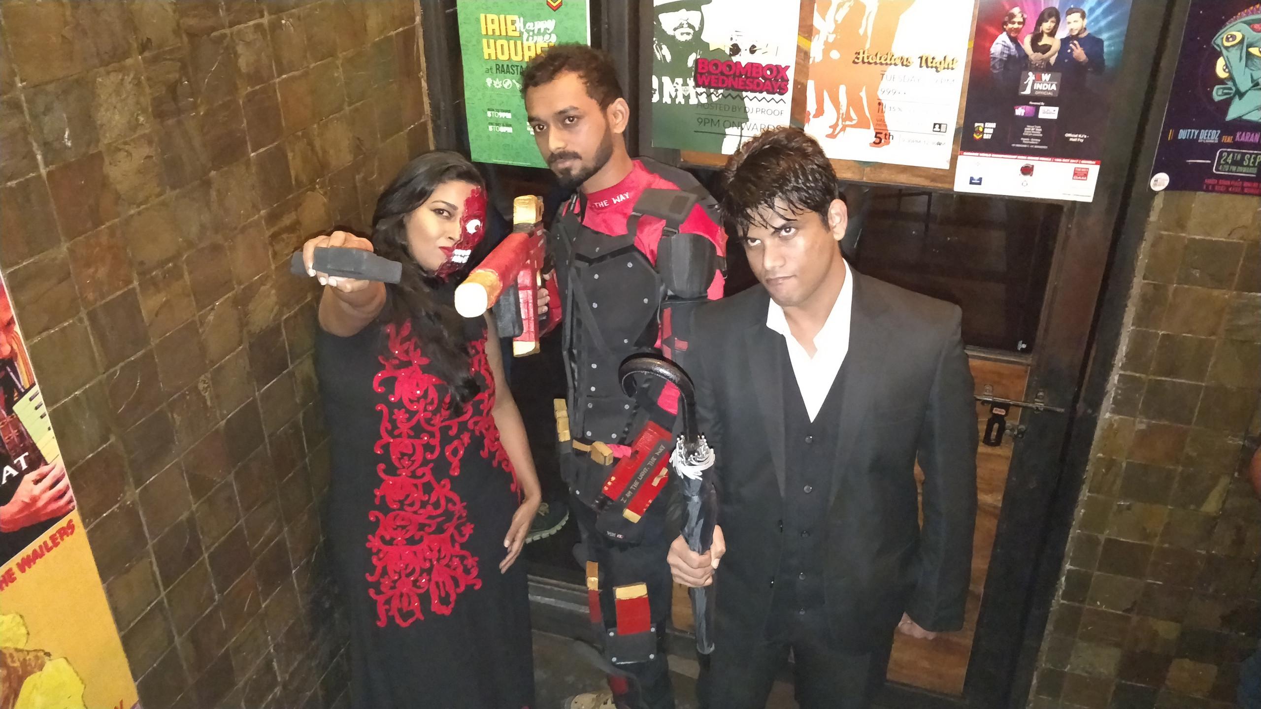 TJ, Nickk & Gaurav | Cosplayers