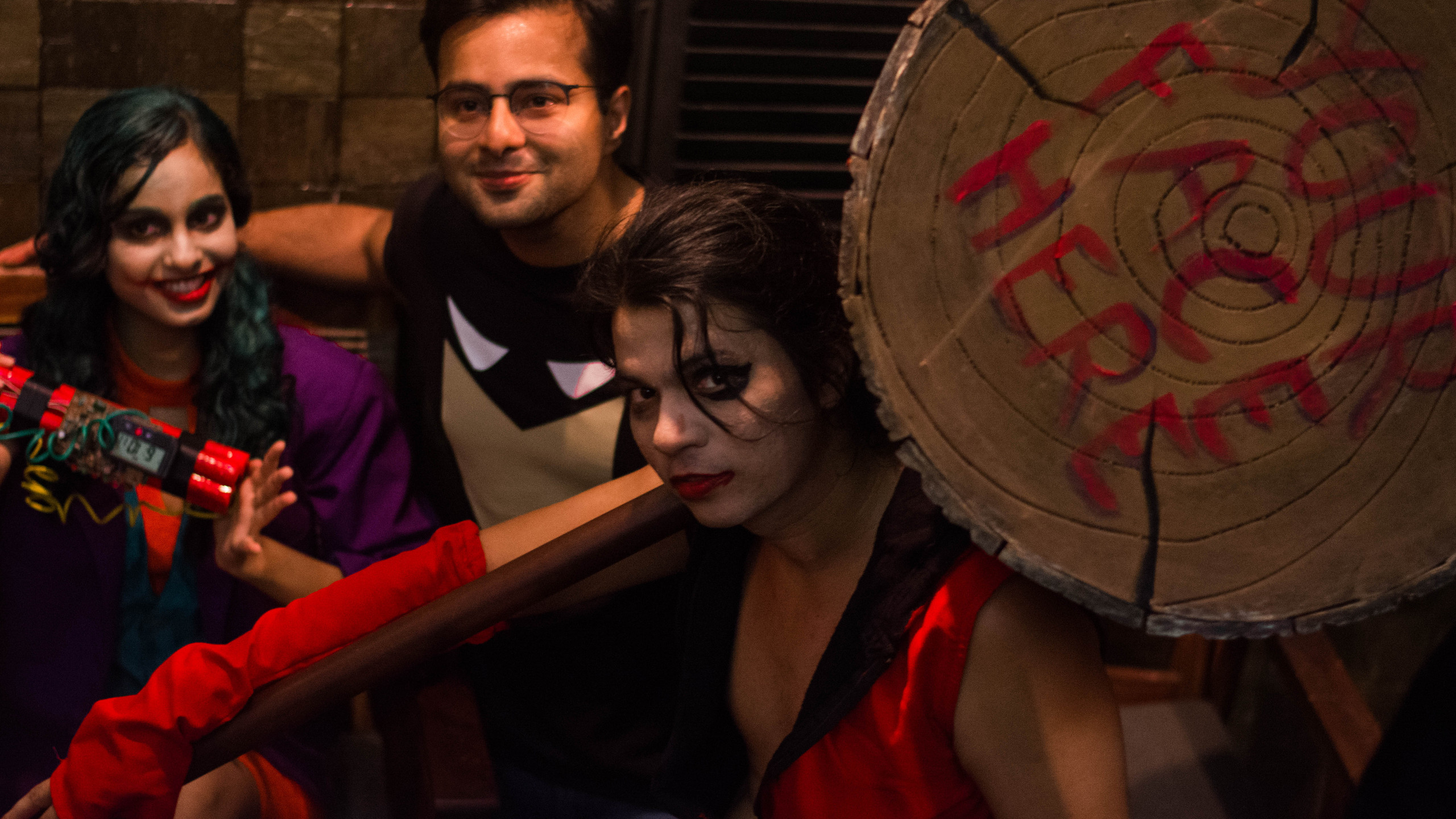 Saurabh as Harley Quinn-Gender Bend