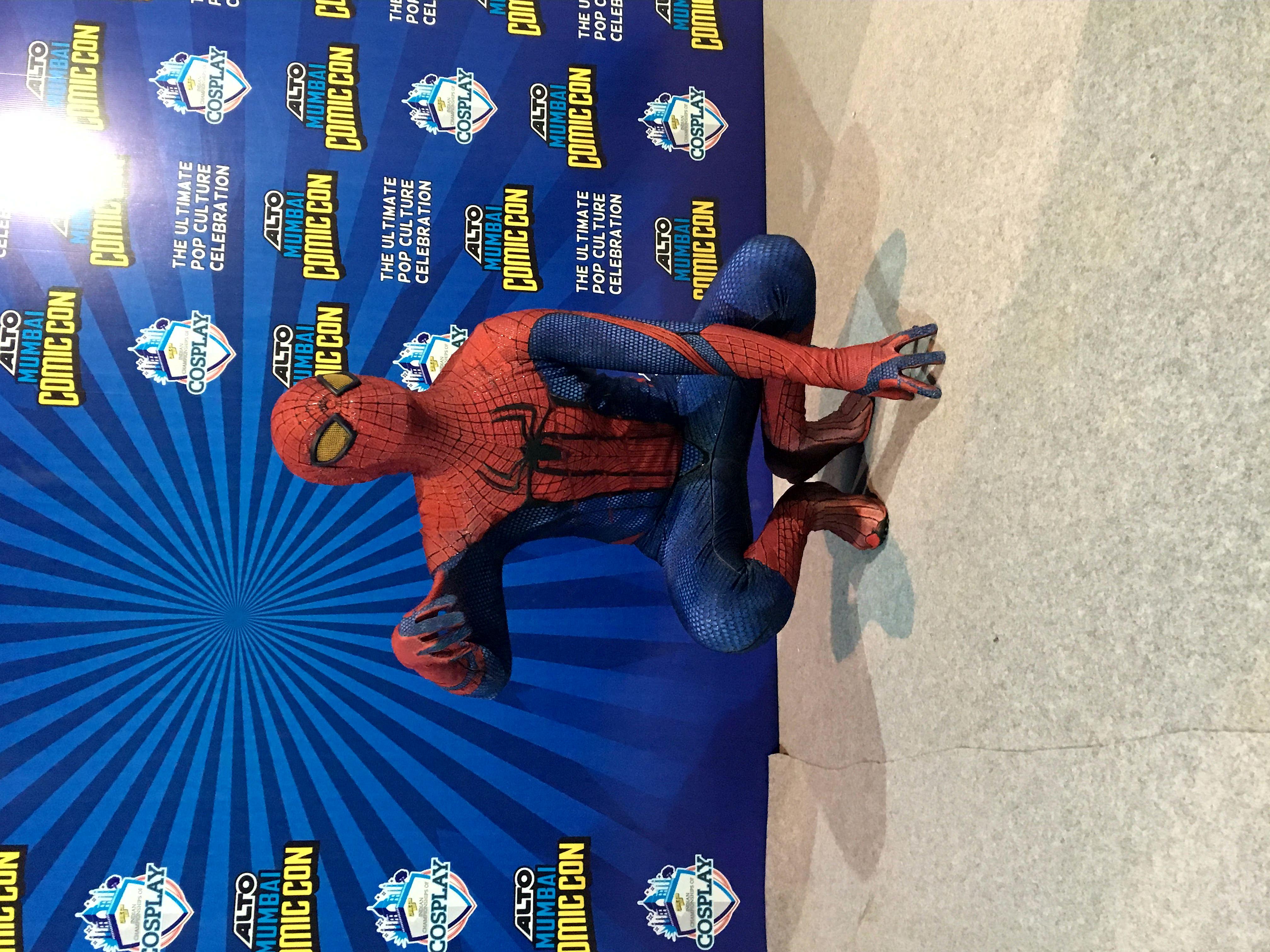 Gaurav Thakur's Spiderman Cosplay