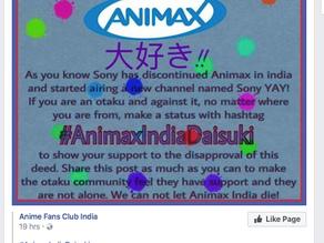 #AnimaxIndiaDaisuki : Desperate Attempt Of Otakus To Bring Animax Back In India!