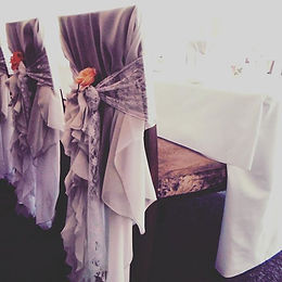 Our beautiful chair covers__www.vintagev