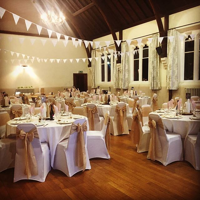 Village Hall Wedding Setting _#vintagest