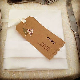 Personalised Name Cards _www.vintagevenu