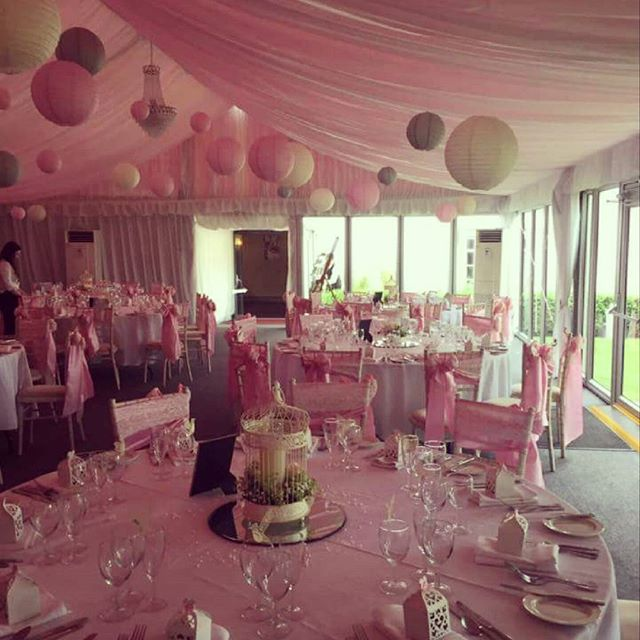 Pink Themed Wedding _www